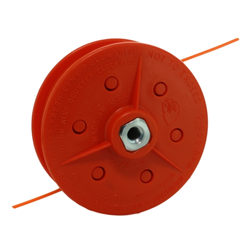 manual feed trimmer head