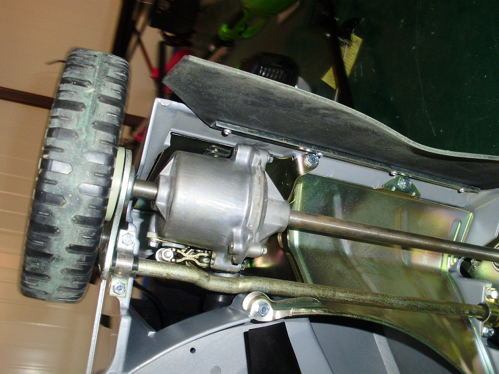 lawn mower Axle gearbox transmission