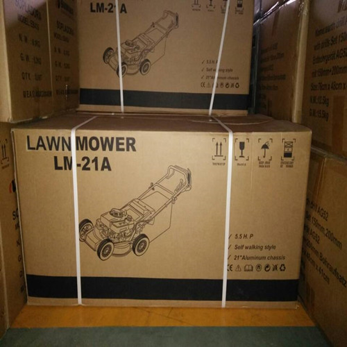 lawnmower packing