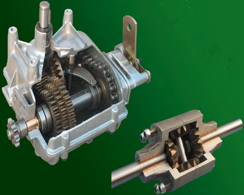 lawn tractor gearbox