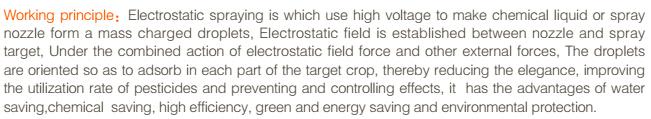 electrostatic farm mist duster