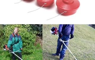 grass trimmer head