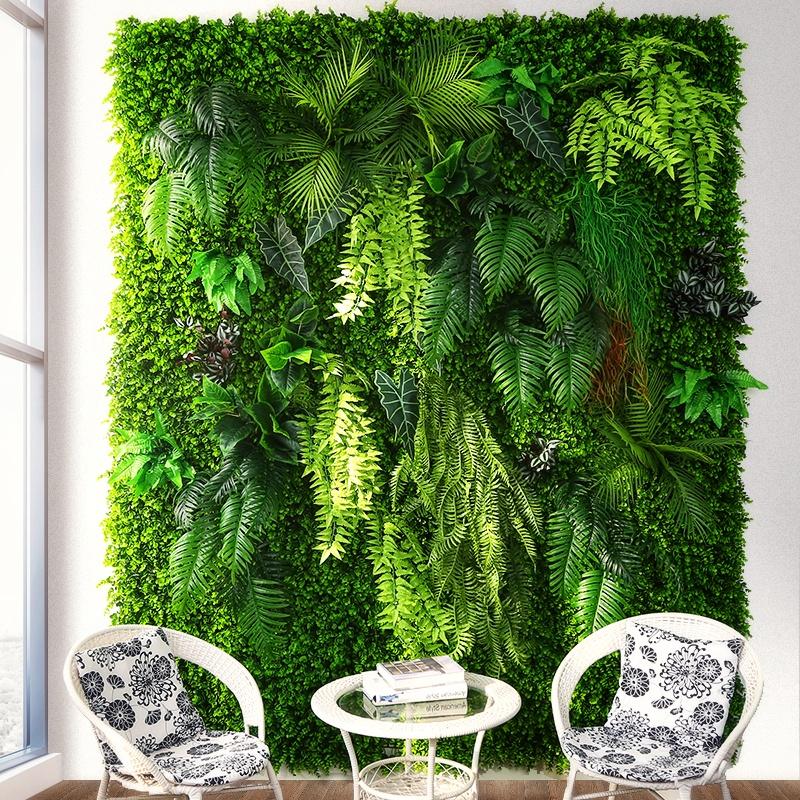 artificial plants wall